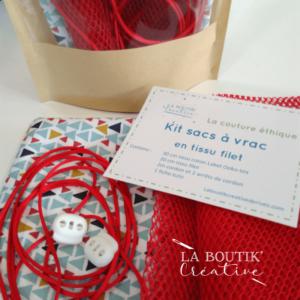 Kit sacs à vrac rouge
