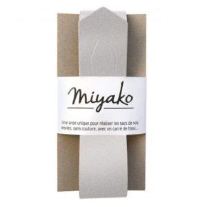 Anse de sac Miyako argent irisé