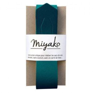 Anse de sac Miyako bleu canard