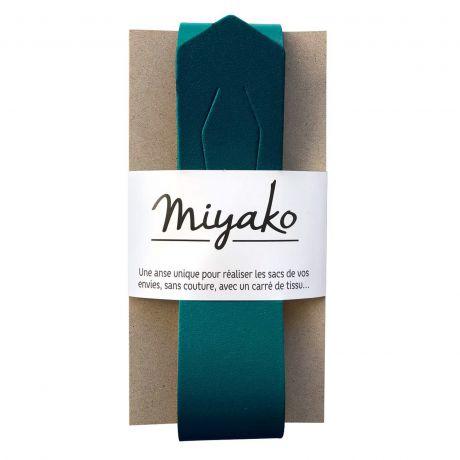 Anse de sac Miyako en cuir canard