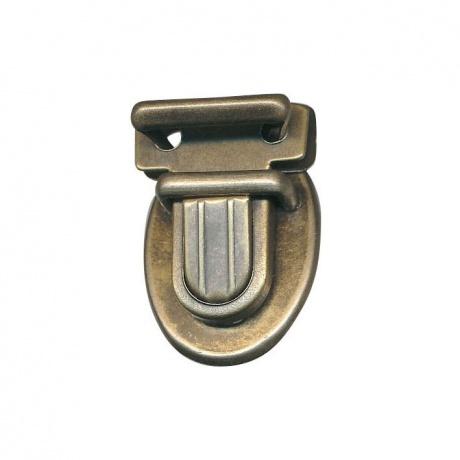 Fermoir cartable col bronze