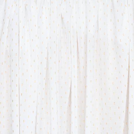 Tissu France Duval plumetis viscose blanc 3