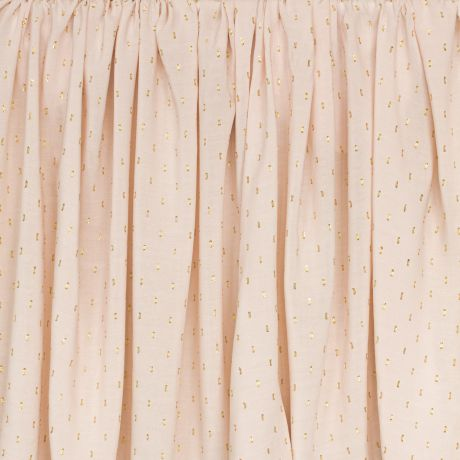 Tissu France Duval plumetis viscose rose 3