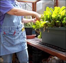 tablier jardin jean recup