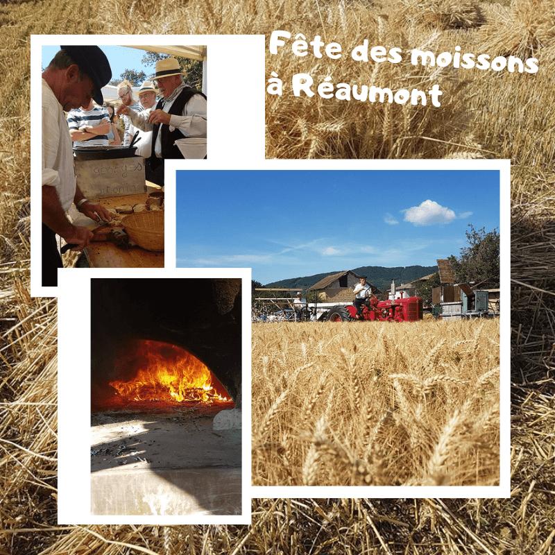 Fête des moissons à Réaumont