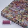 Tissu Batik perle d'eau Rose