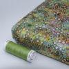 Tissu batik perle d'eau vert