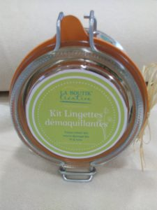 Kit Lingettes bio la Boutik' Créative 3