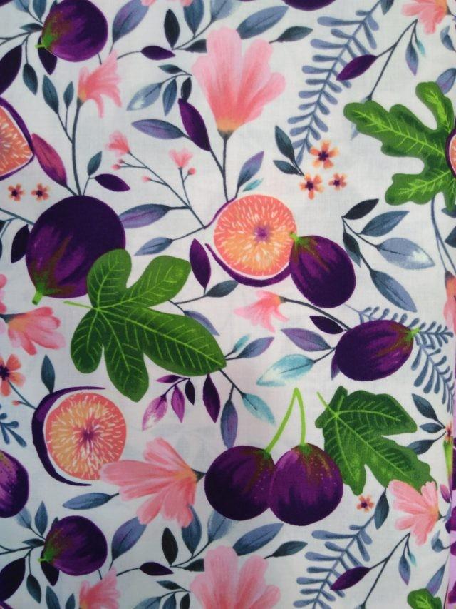 Figues et fleurs