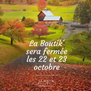 La Boutik Créative 23 et 23 octobre
