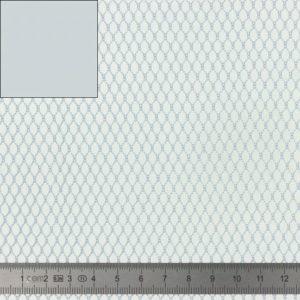 Tissu filet gris (x 20cm)