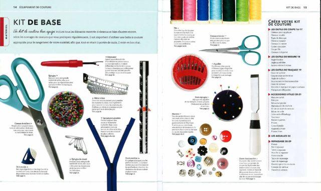 La nouvelle Encyclopédie de la Couture Kit de base