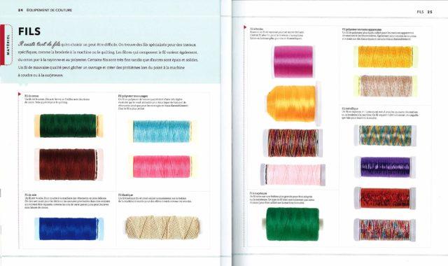 La nouvelle Encyclopédie de la Couture les fils