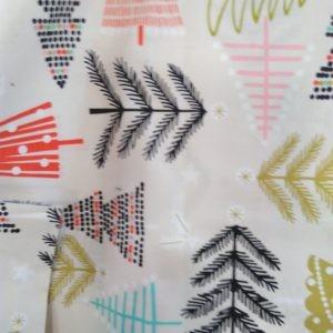 Tissu Noël rustique (x10cm)