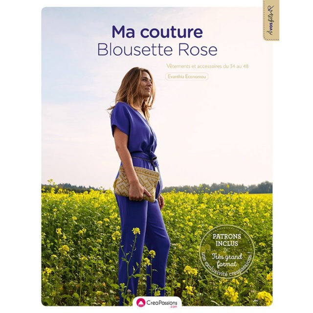 Ma Couture Blousette Rose couv