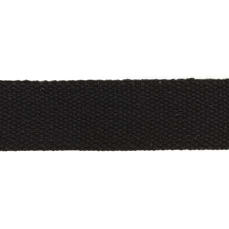 Sangle 30mm noir polycoton