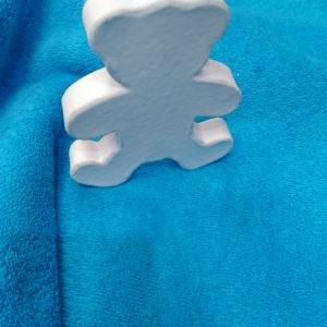 Tissu éponge bleu (x10cm)