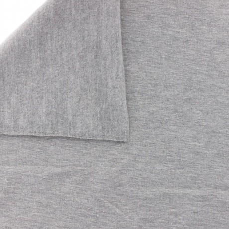 issu Stenzo sweat coton gris clair chiné 160cm