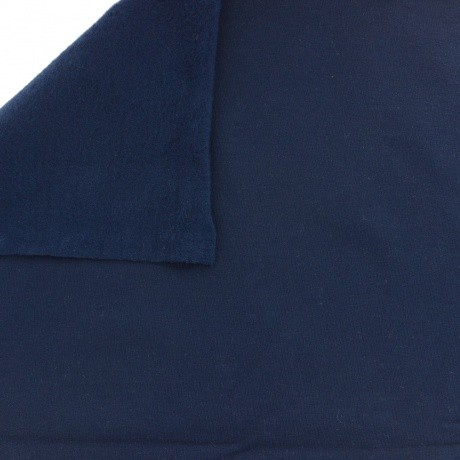 Tissu Stenzo sweat coton uni marine 160cm