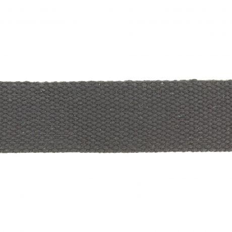 sangle 30 mm gris foncé polycoton