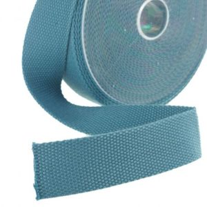 Sangle 30mm vert bleu