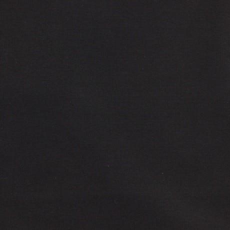 Bord côte jersey tubulaire noir détails