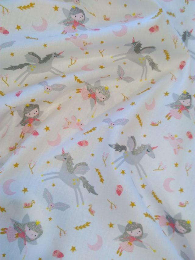 Tissu coton Little witches 1