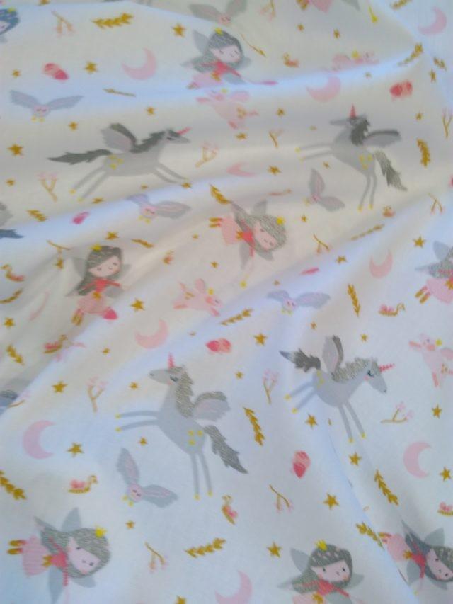 Tissu coton Little witches 2