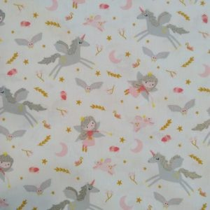 Tissu coton Little witch laize 150cm
