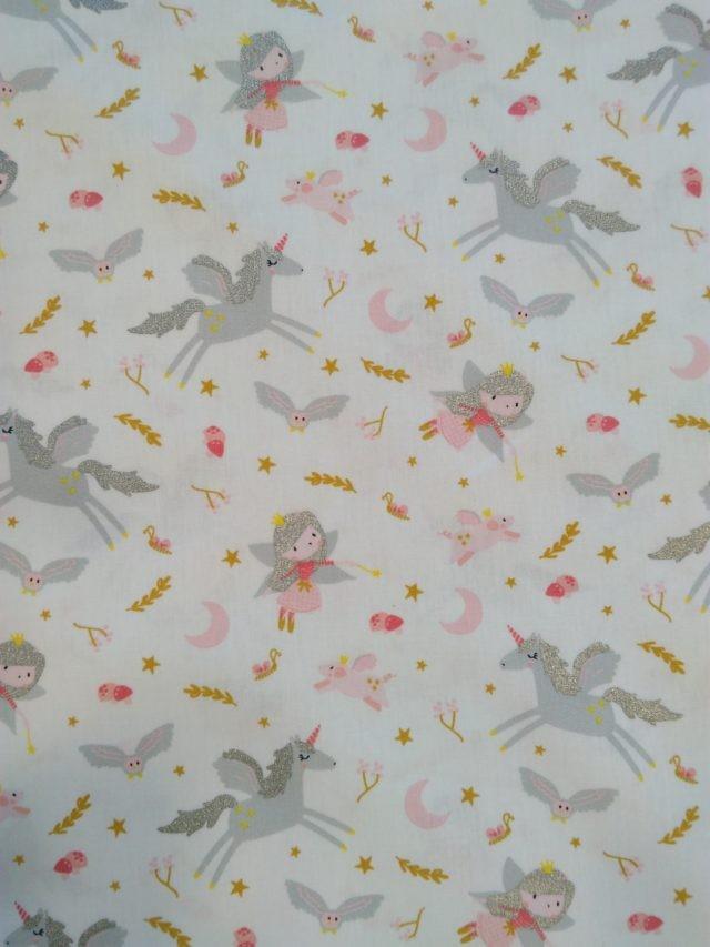 Tissu coton Little witches