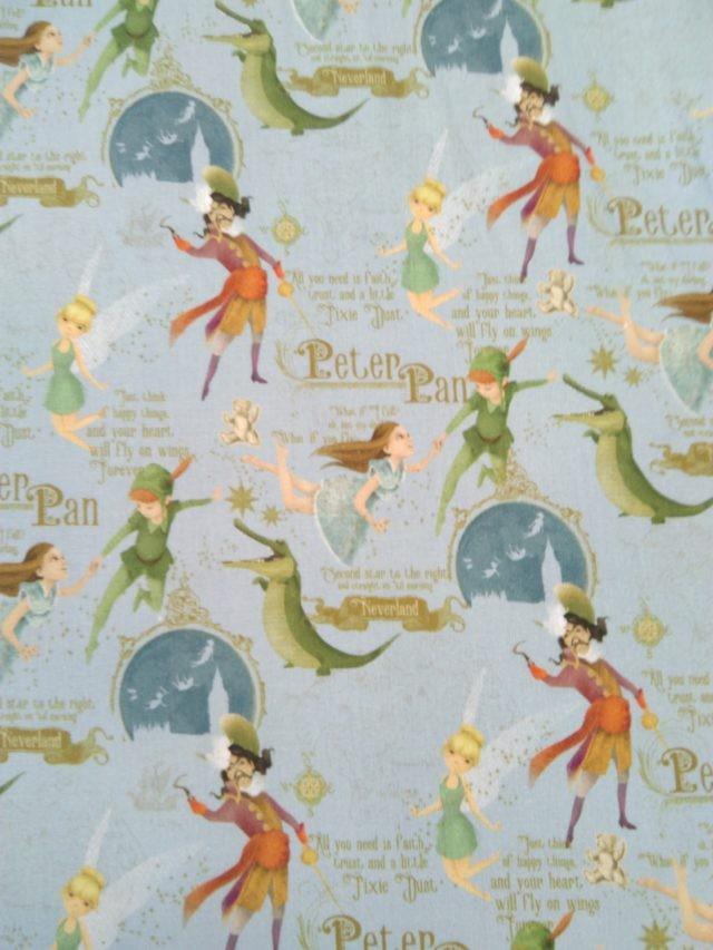 Tissu coton Poppy Peter Pan 1
