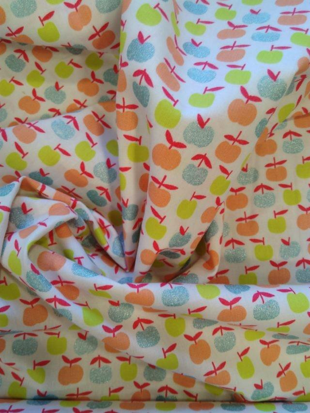 Tissu coton Poppy Ymmy Apples (2)