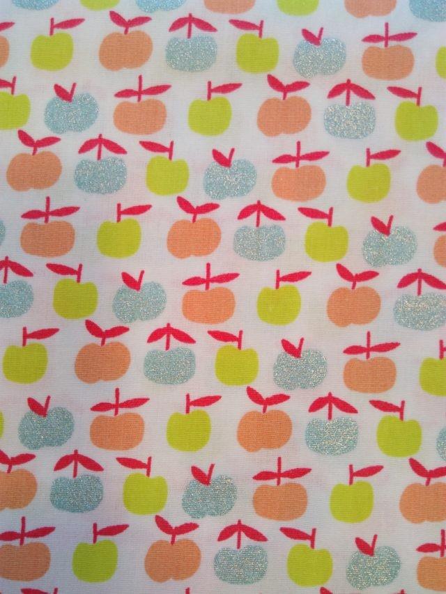 Tissu coton Poppy Ymmy Apples 3