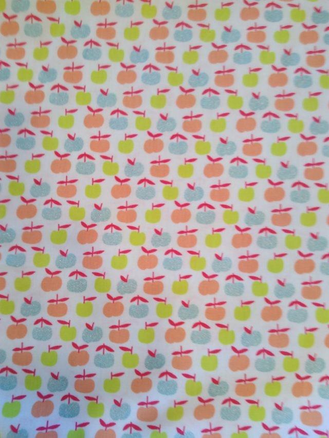 Tissu coton Poppy Ymmy Apples