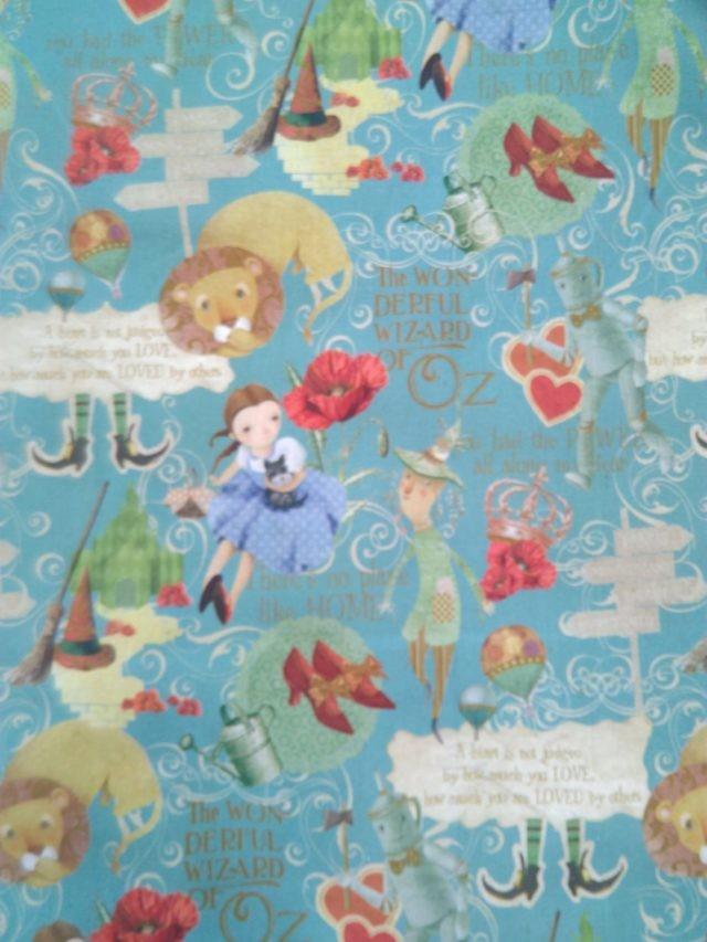 Tissu coton Poppy le Magicien d'Oz