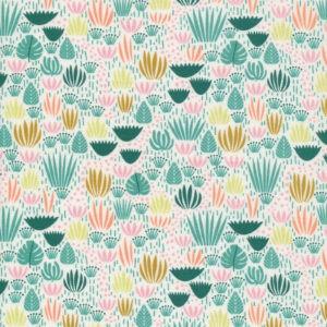 Tissu coton bio Jungle Floor