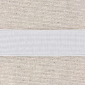 Elastique plat blanc 3cm