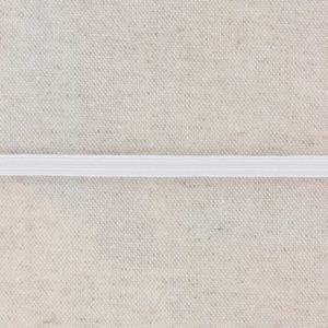 Élastique tubulaire blanc 14g (5mm)