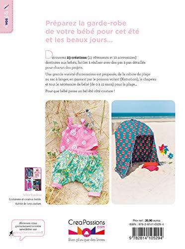 Accessoires et vêtements d'été pour bébé dos