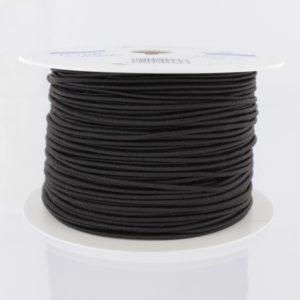 Elastique rond Noir 3mm