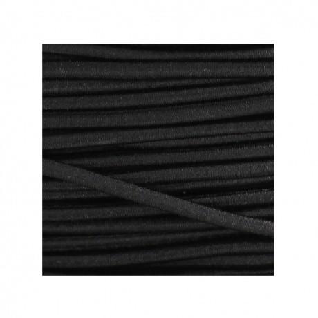 Cordon rond élastique 3mm noir 84 109 3 1 détail