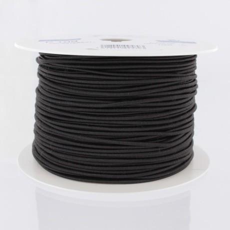 Cordon rond élastique 3mm noir 84 109 3 1
