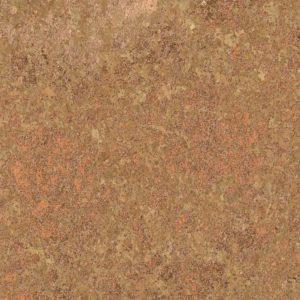 Tissu liège naturel et cuivré