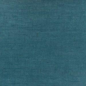 Tissu Lin enduit bleu pétrole coupon 50 x 140 cm