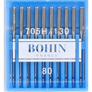 Aiguilles machine à coudre Bohin n°80 – étui de 10