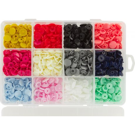 Coffret 240 pressions BabySnap® plastique