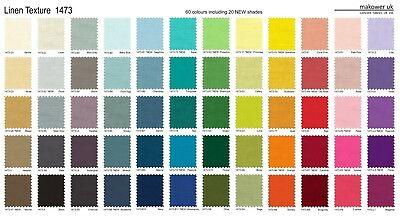 Nuancier Linen texture Fabrics