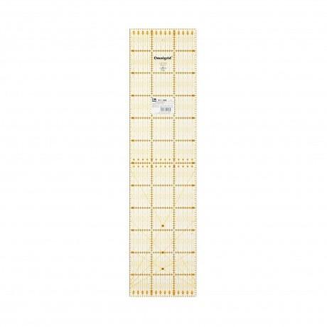 Règle universelle pour patchwork en cm 15x60 cm
