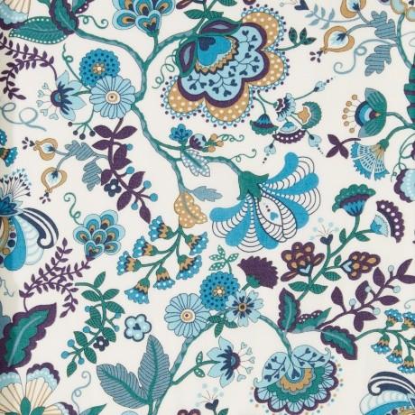 Tissu Liberty Mabelle Bleu