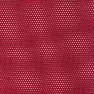 Tissu coton tout ce qui brille bordeaux  pois argent laize de 150CM (x 10cm)